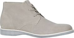 Men's Marc New York by Andrew Marc Harman Chukka Sneaker - Light Grey/White/Clear Suede with FREE Shipping & Exchanges. Smart and straightforward, the Harman Chukka Sneaker is a classic that will keep you in style and