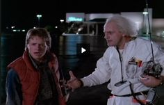 """""""Roads?  Where we're going, we don't need roads!"""" (Back to the Future)"""