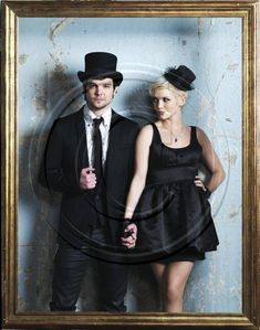 Andrew Lee Potts & Hannah Spearritt <3 Primeval couple. Real couple. Adorable. My first pixie cut was inspired by her. <3