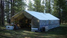 big family hunting cabin tent - Recherche Google