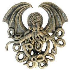 Fantasy demon door knocker