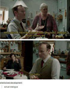 Sherlock and Mycroft