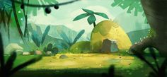 Studio Mouette - Game and Animation Backgrounds on Behance Cartoon Background, Game Background, Paint Background, Animation Background, Landscape Background, Layout Design, Bg Design, Film D'animation, Character Design Animation