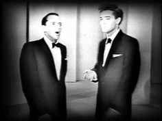 Sinatra and Elvis Presley Duet - Two of the greatest singers of all time. Frank is so funny, as he says they do the same thing, just work different in different areas. They were the greatest!!