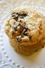 Brown Butter Peanut Butter Truffle Chocolate Chip Cookies