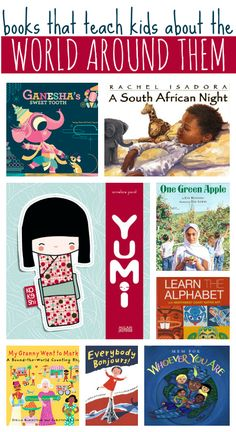 Great list of multicultural books for kids.