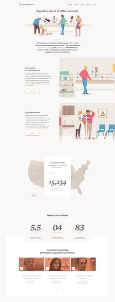 A complete overhaul of the PrescribeWellness corporate identity and website. Case Study Design, Business Pages, Corporate Identity, Web Design Inspiration, Graphic Design Illustration, Digital, Pictogram, Website, Landing