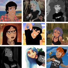 Emo Princesses From Disney | 31 points · stats