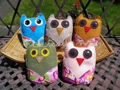 owl baby shower decor...theses would be easy to make in the shower theme colors as decorations....