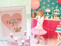 """Sweet """"Call Me Maybe"""" Kids Valentine's Party // Hostess with the ..."""
