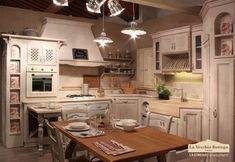 Cucine in muratura rustiche e moderne - Cucina in muratura e legno ...