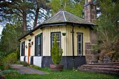 Cambus O'May station house circa 1876, Ballaterich, Scotland