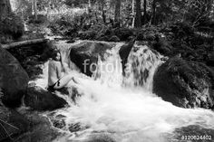 #Topless #Girl At The #River In The #Woods @fotolia @fotoliaDE #fotolia #portrait #young #woman #beauty #body #nature #landscape #blackandwhite #bnw #bw #monochrome #outdoor #summer #feeling #streamotion #art #austria #carinthia #emotion #stock #photo #portfolio #download #hires #royaltyfree