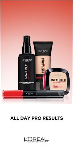 L'Oreal Infallible Makeup for Longwear Looks that Take You from Day to Night Without a Touch-Up