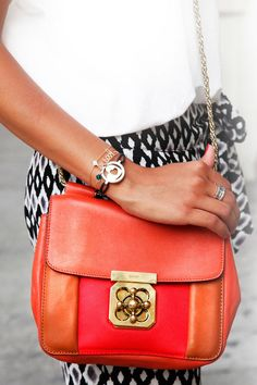 Chloe bag. obsessed with the colors!