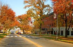 Kutztown looking beautiful in the fall