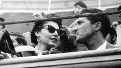 Ava Gardner with bullfighter Luis Miguel Dominguin in 1954.
