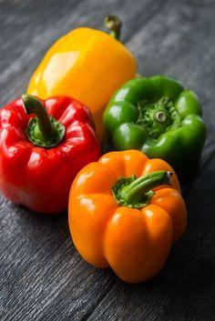 Slow Cooker Vegetarian Stuffed Peppers
