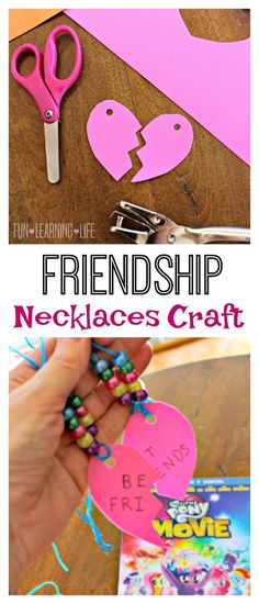Friendship Necklaces Craft Inspired by My Little Pony! (Sponsored)