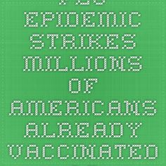 Flu Epidemic Strikes Millions of Americans Already Vaccinated Against the Flu   World Truth.TV