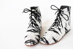 hand crafted booties - osborn design