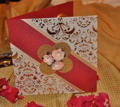 postal de navidad hecha a mano