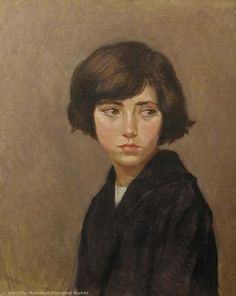 Kay Sage - 1921 - Girl in Black Dress www.transitionresearchfoundation.com