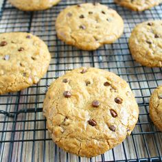 Chocolate Chip Cookies Allergy Friendly (Gluten Free egg free Vegan dairy free) The BEST chocolate chip cookie ever.