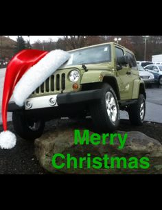 Merry Christmas from Craig at Mick's North Hills Chrysler Jeep Dodge Ram!  http://www.micksnorthhillschryslerjeep.com/mick-s-north-hills-ram-chrysler-jeep-dodge-new-car-ad.htm