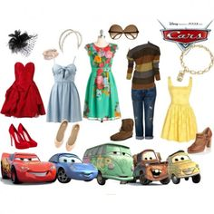 Cars Outfits - via @kennymilano