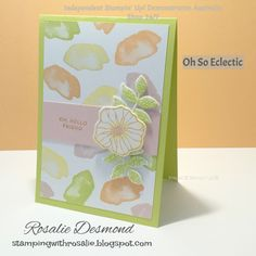 It seems like everyday I am finding new favourite products. Todays excitement is the Oh So Eclectic Bundle. The background was creat...