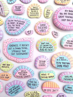 keep it sassy babes - Sassy Rock Set by Papered Thoughts on Etsy