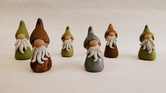 Whimsical Gnome for Fairy Gardens by GracieBellasBoutique on Etsy, $8.00 I want this gnome!!