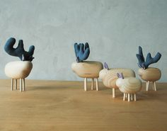 Pol-Eno Wooden Treasures #wooden #animals