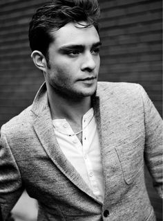 Ed Westwick.... umm yes please