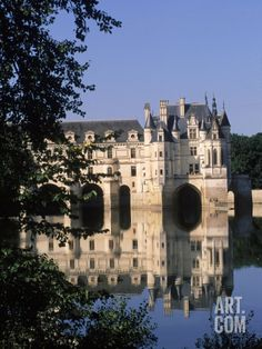 Chateau de Chenonceau, Loire Valley, France Photographic Print by Kindra Clineff at Art.com