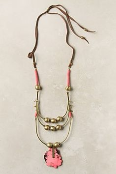 necklace by anthropology