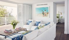 Collette Dinnigan interior design: New South Wales south coast hotel, Bannisters by the Sea.