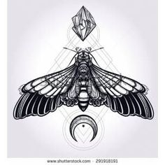 Image result for moth sternum tattoo