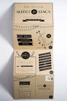 Rustic Wedding Invitations To Impress Your Guests ❤︎ Wedding planning ideas & inspiration. Wedding dresses, decor, and lots more. Wedding Paper, Wedding Cards, Diy Wedding, Rustic Wedding, Wedding Day, Trendy Wedding, Formal Wedding, Handmade Wedding, Lace Wedding