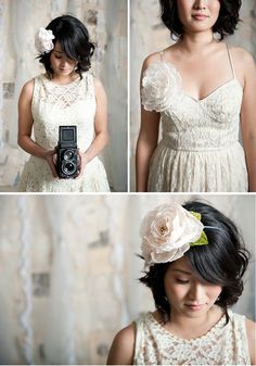 Love Tessa Kim's new line of hair accessories! Beautifully styled and photo credit to Candice Benjamin.