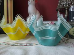 Hankeechief vases from eyecandy vintage