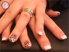 french nails nail art nail-art nagel manicure utrecht Utrecht, French Nails, Nailart, Manicure, Beauty, Design, Nail Bar, French Tips, Nails