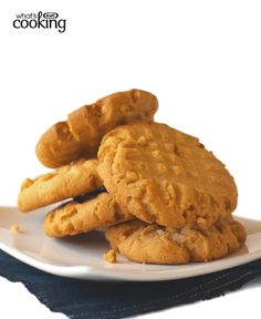 KRAFT Old-Fashioned Peanut Butter Cookies #recipe - Sorry, trend hunters. You just can't beat these classic cookies, just like Grandma used to make. This version features pure, creamy peanut butter flavour — and the signature crisscross fork marks. Tap or click photo for recipe.