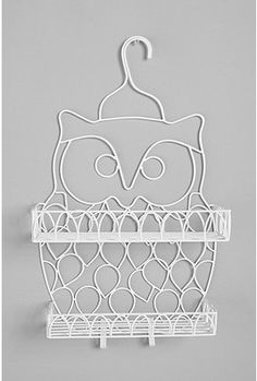 Cute shower caddy for those who want to wall-mount one in their room for beauty product storage. $39.00.