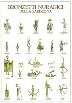Bronzetti nuragici della Sardegna Pillars Of Hercules, Ancient Mysteries, Exotic Places, My Land, Bronze Age, Ancient Civilizations, Roman Empire, Antique Art, Italy Travel