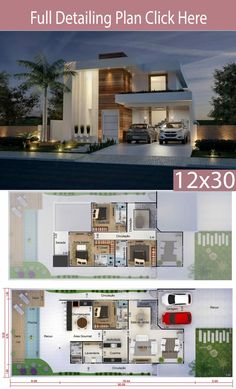 Home Design Meters 4 Bedrooms Home Ideas is part of House design - This project is undoubtedly one of the best ever made by our team With a perfect combination of design and functionality