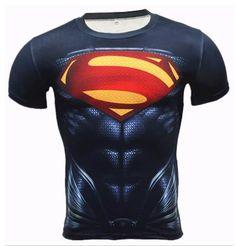 NEW Superman 3D T-Shirt Men Kids Size S 5XL Marvel Full Print Stretch Cool Best  #Zoey #GraphicTee
