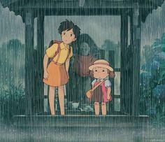 Satsuki & Mei - My Neighbor Totoro (1988)