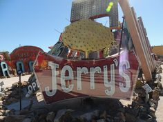 The Neon Boneyard, Las Vegas. Jerrys